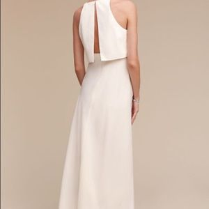 BHLDN Dresses - ❤️❤️ BHLDN Iva Crepe Maxi Dress Ivory